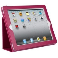 FOR IPAD 2 protective case single litchi holsteins belt+free shipping