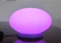 Oval lamp luminous lamp bar counter led mood light lamps symphony rgb multicolour charge remote control