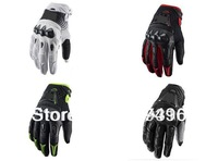 No.2100 Men's Motorcycle racing leather gloves Motorbike gloves,motocross gloves,Fox Bomber Cycling MTB MX Gloves Black