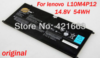 original laptop Battery for lenovo L10M4P12 Ideapad U300 U300S YOGA 13 Series YOGA12-ITH U300S-ISE