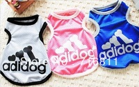 Wholesale factory directly sports dog clothing 5 PCS/lot, beautiful dog/pet clothes,new arrival