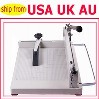 """A3 PAPER CUTTER 17"""" HEAVY DUTY CONSTRUCTION NON SKID PADS FOR TABLE TOP USE EXTRA LONG CUTTING HANDLE BAR"""