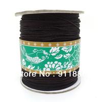 Free Shipping,160m/Roll,1.5mm Black Nylon Cord China Knot Beading Thread Findings For Shamballa Jewelry Making