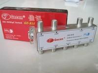 Freeshipping GD-81E 8x1 DiSEqC Satellite LNB Switch high quality