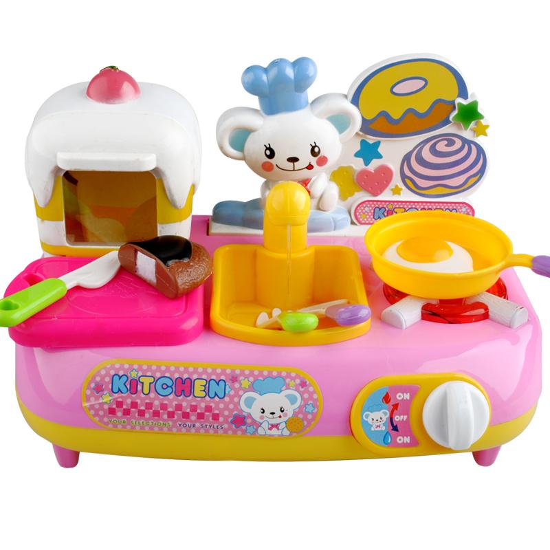 Мини-игрушка кухня игрушка ребенка sooktops инструменты