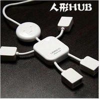 Human shape  robot  splitter  extension cable 4    laptop multiple interfaces usb