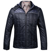 Free shipping Quality wholesale winter outerwear clothing white duck down detachable thermal male down coat