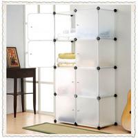 Diy storage rack multifunctional storage cabinet storage box 8 belt door 6kg