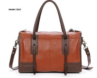 2013 genunie leather Women's handbag fashion vintage fashion top messenger bag,free shipping