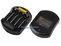 Soshine LCD Universal SC-C5 Battery Charger for LiFePo 14500 10440 NiMH AA AAA