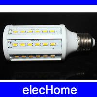 15W E27 60 5630 SMD 360 degree LED Corn Bulb 220V AC 210-240V Warm & white High Luminous Efficiency led Light Lamp free shipping