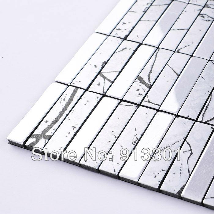 Badkamer Kleuren Ideeen ~   tegel strip uit China metalen tegel strip Groothandel  Aliexpress com