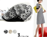 New fashion style striped sea anchor department Korean women summer hats cap berets Specials