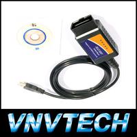 Wholesale price OBD/OBDII scanner ELM 327 car diagnostic interface scan tool ELM327 USB