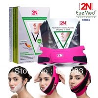 2n face-lift firming mask 7 pieces with a bandage powerful V-Line Face slimming lifting shaping Singapore Post Free Shipping