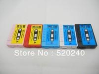 Large Supply Stylish Mini Card MP3 Player, Free Shipping 100pcs/lot Music Player Beautiful Audiotape MP3