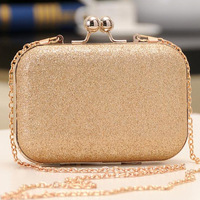 Free Shipping popular bling leather bag design elegant bag women's handbag day clutches bridal evening bag ladies' handbags