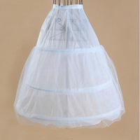 Freeshipping!! The bride wedding dress pannier wire high quality puff skirt slip wedding dress long slip