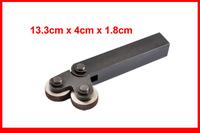 26mm Dia Dual Wheels 1.0mm Pitch Linear Knurl Knurling Tool
