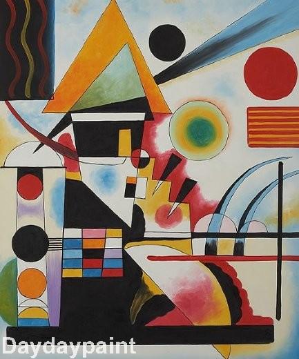 Kandinsky famosas pinturas - Compra lotes baratos de