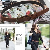 Fashion personality vintage copper 8 brief belt decoration female tenuity strap
