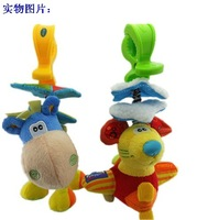 Playgro mouse donkey lathe hang bell baby stroller rattles, educational toys