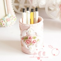 Princess pen rose resin pen cosmetics storage tube wedding gifts 2011 0.3kg