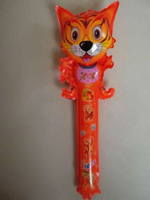 Self-styled mouth inflatable toy refueling bar hit the cat  Free shipping
