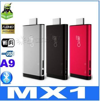 iMito MX1 Dual Core TV Box Android 4.1.1 Mini PC w/ RK3066 1.6Ghz 1GB/8GB Cortex-A9 Bluetooth 3D Game 3 Colors