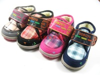 Bob DOG children shoes 1185 check child baby snow boots cotton-padded shoes