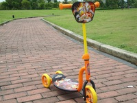 Great gold child tricycle scooter frog car dolly buggiest pedal car