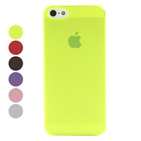 Frosted Surface Ultrathin Hard Case for iPhone 5 (Assorted Colors)   Free shipping