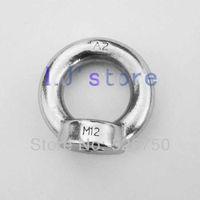 M8 Stainless Steel 304 Lifting Eye Nut DIN582 Metric Thread 10Pcs