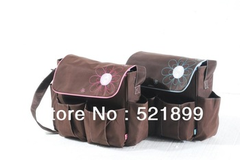 Designer Mother Diaper Bag for Baby Fashion Baby Bags Mummy Nappy Bag 2 Colors
