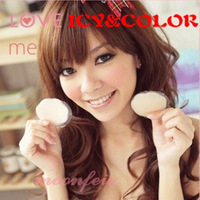 Icy color silica gel breast petal breathable chest invisible bra thickening