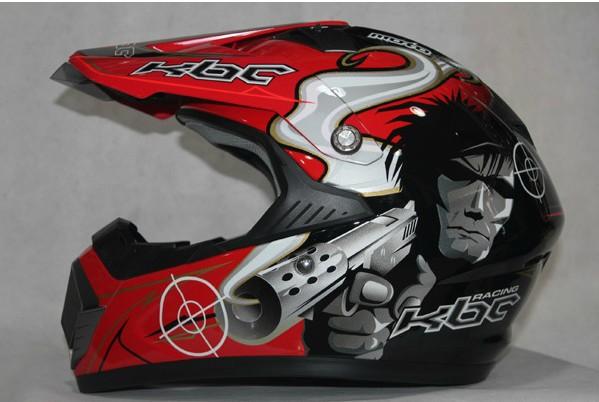 218 style windproof American KBC off-road racing helmet motorcycle helmet helmet. T45(China (Mainland))