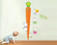 free shipping 2013 new hot sale fashion height decals pvc plastic 3d wall stickers mirror