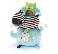 Free Shipping children Alphabet Zoo activity stack stick animals toys