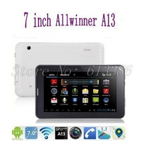 7 inch Wifi 3G Tablet / Android 4.0 /  A13 Cortex A7 1.0GHz/ 512M RAM, Free Shipping