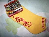 Edhardy skateboard sports towel 100% socks sock cotton sock socks