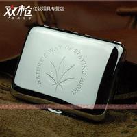 Woman tools copper cigarette case double chrome 320 16 delicate cigarette smoking set