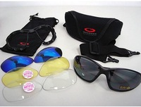 G-C4 Polycarbonate Eye Protection Glasses Guarder C4 Tactical Shooting Glasses w/4 Set Lens &Belt