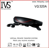 4G 72'' widescreen virtual video movie glasses with eyewear mobile theatre cinema VG320A