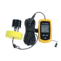 Portable Fish Finder Depth Sonar Sounder Alarm Transducer Fishfinder 100m