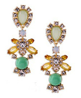 2103 sapphire earrings for women drop earrings with crystal womens jewelry jewlery