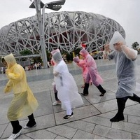 Free shipping 2013 fashion F185 ride travel general disposable raincoat poncho