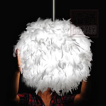 new arrival  badminton  ball feather lamp child pendant light diameter 40 cm   free shipping