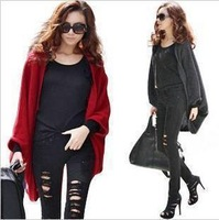 New Classical  Fashion Shawl Long Paragraph Bat Sleeve Loose Jacket Hot Products