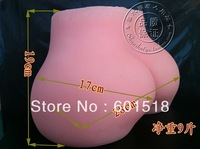 3D big full silicone sex ass doll for men