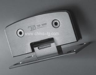 Dinggu hardware bathroom clip glass open the door hinge tg-h07 90 drawing